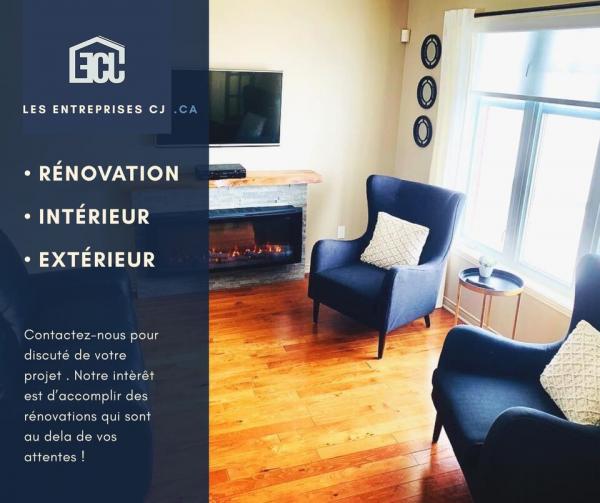 Les Entreprises CJ - Rénovation résidentielle - 450-917-3999